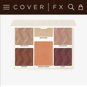 COVER FX Eyeshadow Palette